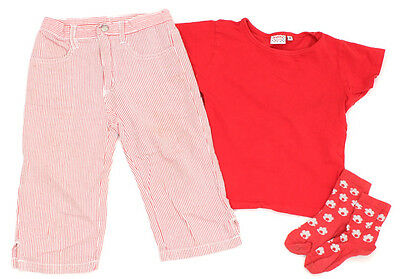 TIK&TAK Capri-Hose und KIDDY GIRL T-Shirt - 116