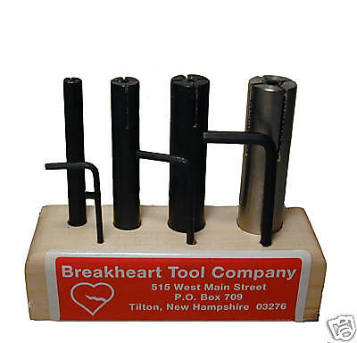 "Expanding Arbor Set 4 Pc.   1/4"" - 5/8 ""  American Made"