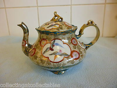 Antique Hand Painted Noritake  Teapot Circa 1902 - 1920