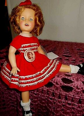 Vintage Ideal Doll Shirly Temple 1950,s 12 Inch