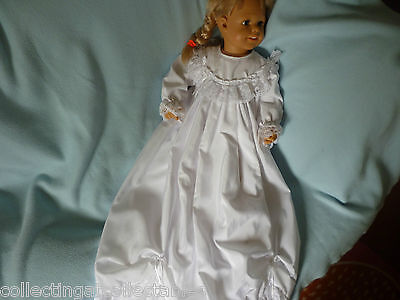 Childs Or  Dolls  Christening Gown