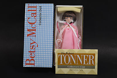 """Robert Tonner 8"""" Tiny Betsy McCall Bedtime Stories Doll  NRFB  BMCL1202"""