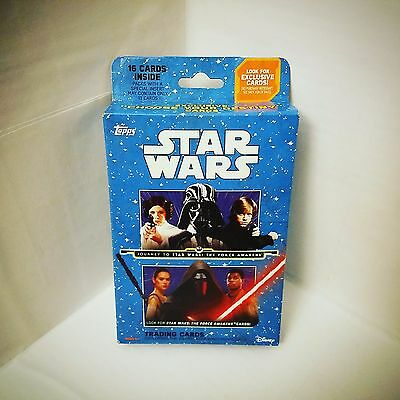 Topps Journey to Star Wars: The Force Awakens Trading Cards - 16 Count Box - NIP