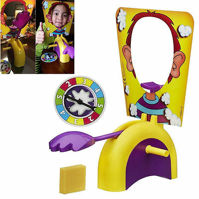 Fun Pie Face Board Funny Child Adult Rocket Party Game Family Toys Holiday Gifts