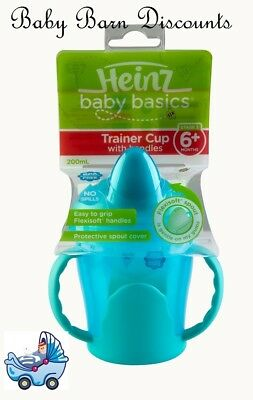 Heinz Baby Basics Trainer Cup (Stage 3) for 6m+ 200ml - Blue