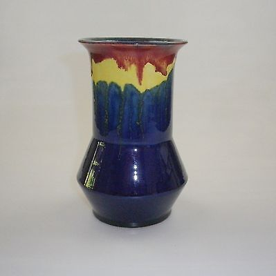 Early Series Remued Vase With A Two Cone Base Wide Straight Throat  Small Flare