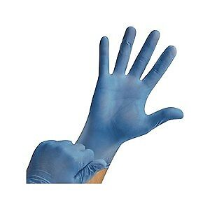 Ansell Food Safe Blue 874X Gloves - Extra Large (100 gloves per box) x 5 Boxes