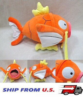 "NEW Pokemon Magikarp monster fish 9"" Plush Toy Stuffed Doll Christmas gift USA"
