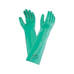 Ansell Sol-Vex Gauntlet Gloves Size 9 (12 pairs per carton) x 12 Pairs
