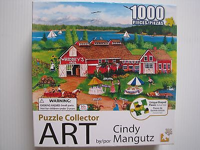 Jigsaw Puzzle 1000pce - Whidbey's Greenbank Farm - Complete.