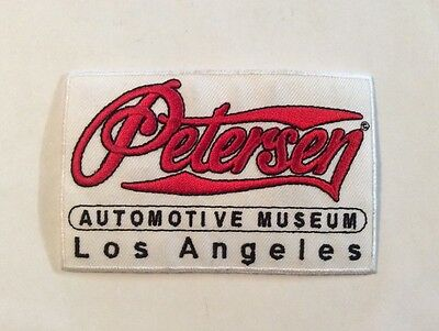 Petersen Automotive Museum Los Angeles Red White Patch