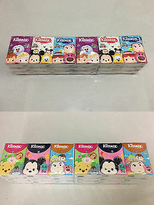 Kleenex Disney Tsum Tsum Mickey Minnie / Nemo Dory Mini Pocket Tissue 18 packs