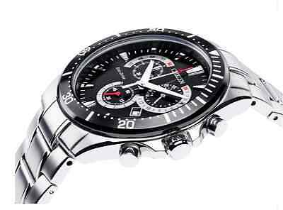 Citizen Mens' Eco Drive Black Dial Chronograph Watch *AT2358-51E* With Box & Tag