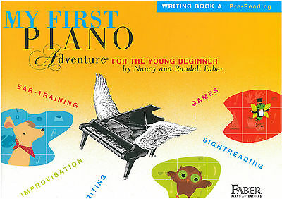 My First Piano Adventures for the Young Beginner - Writing Book A - FF1620