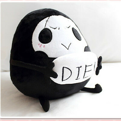 Game Overwatch OW REAPER Cute Cosplay Plush Dolly Pillow Toy Gift 20cm