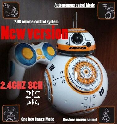 Star Wars 7 RC BB-8 BB8 remote control robot BB 8 intelligent Action Figure toy