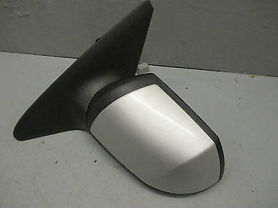 FORD MOndeo Mk3  Passenger N/Side Left Electric Adjust Door Mirror In Silver