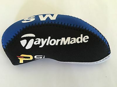 10 x Taylormade Psi Golf Club Iron Covers Headcovers New 2017 Closure Feature
