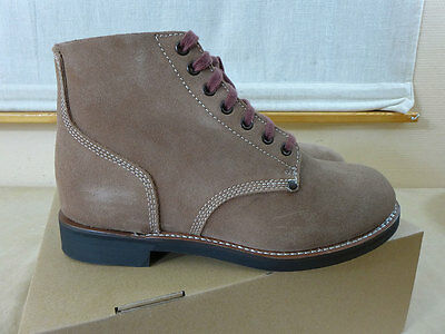 US WW2 Stiefel Boots Shoes Reverse upper Rauhleder Kampfstiefel US8=42