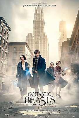 Fantastic Beasts And Where To Find Them Laminated Mini Poster A4 Poster