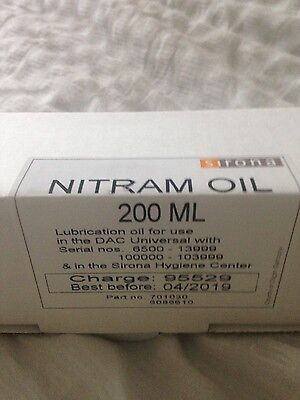 sirona nitram oil and cleaning tablets for DAC autoclave