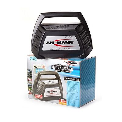 Ansmann Lead Acid Battery Charger Alct 6-24/10 Carica / Mantenitore Batteria