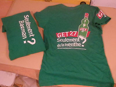 T Shirt Get 27 Taille  M Ou S Neuf Bistrot Enseigne