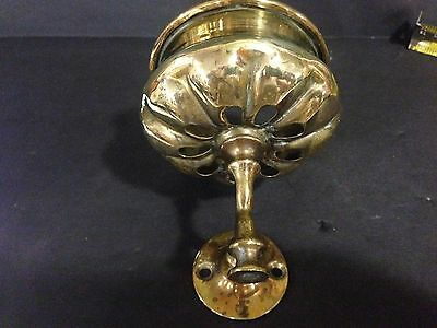 Antique Brass Shaving Cup Cup Holder