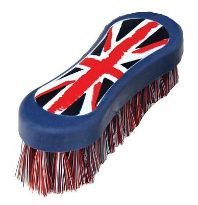 Union Jack face brush and hoof pick set, perfect christmas present, equestrian