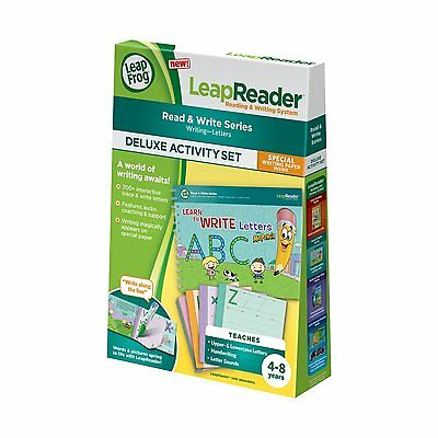 LeapFrog LeapReader Book: Learn to Write Letters Mr. Pencil (Pen not included)