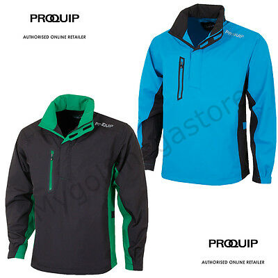 Proquip Golf Mens Ultralite Performance Waterproof ½ Zip Playing Jacket - New