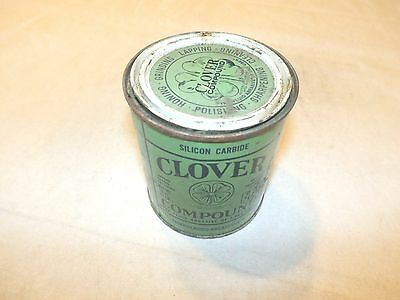 Vintage Clover Compound  1 Pound Can