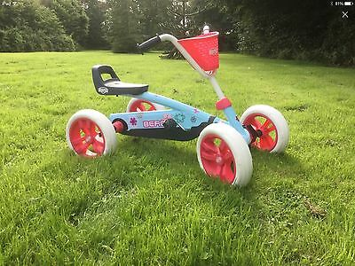 Berg Go Kart - Buzzy Bloom - New Edition - Free Gift + Free P&p