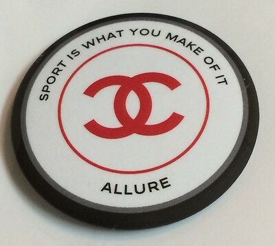 Chanel Allure Sport Advertisement Round Pin~ New In Package