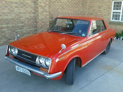 Toyota Corona 1600S Rt50 Hardtop Coupe 1968 Rhd - Rare, Quirky & V Collectible
