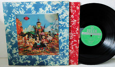 The Rolling Stones Their Satanic Majesties. Vinyl VG | LP 1st UK Stereo 3D Cover