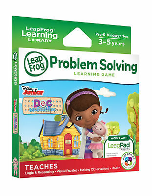 LeapFrog Explorer Game: Disney Doc McStuffins (for LeapPad and LeapsterGS) LF