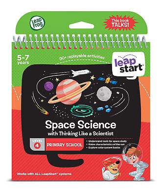 Leapfrog Leapstart Level 4, Space Science 30+ Page Activity Book