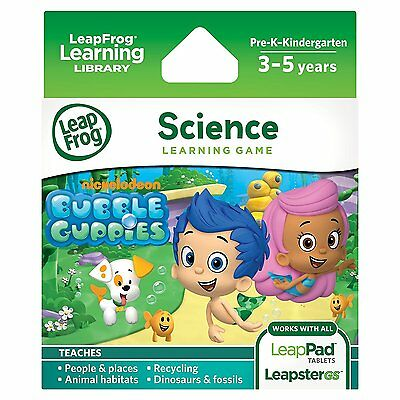 LeapFrog Explorer Game: Bubble Guppies (for LeapPad and Leapster) LF
