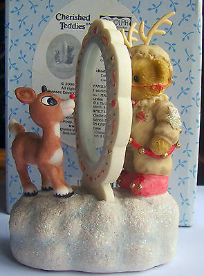 Cherished Teddies Rudolph and Me