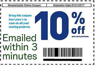 10 off coupon lowes
