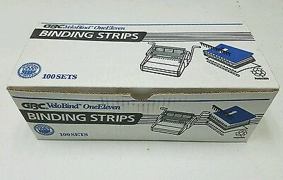 "One Eleven OneEleven 111 Binding Strips 1"" (VeloBind/GBC/3M) 9746000/9746002"