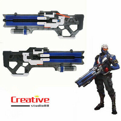 "US SHIP! OW Soldier: 76 Custom 30"" gun weapon Video Game cosplay Prop Christmas"
