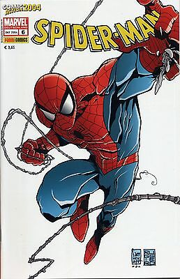 SPIDER-MAN # 6 CAMUNCOLI-VARIANT lim. GERMAN EXCLUSIVE + BLANK-SKETCH-BACK-COVER