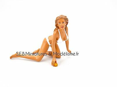 Figurines Barbara( Car Wash Girl ) - 1/18 Se16Dc