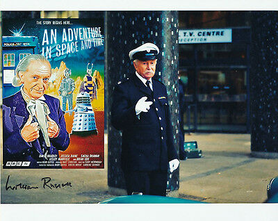 William Russell In Person Signed Photo - B155 - An Adventure in Space and Time