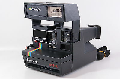 Polaroid Supercolor 635 CL instant camera for 600 film tested Ref.124165dlmntn