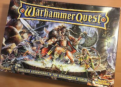 Warhammer Quest vintage Games Workshop game - boxed and complete