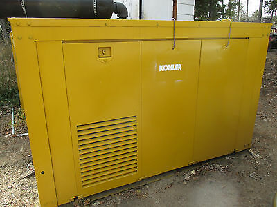 Kohler 80KW Industrial Generator 3 Ph Natural Gas powered Ford 460 Powered