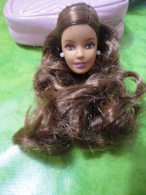 TESTA HEAD BARBIE BIRTHDAY WISHES 2015 LATIN for OOAK - NUOVA - doll collection